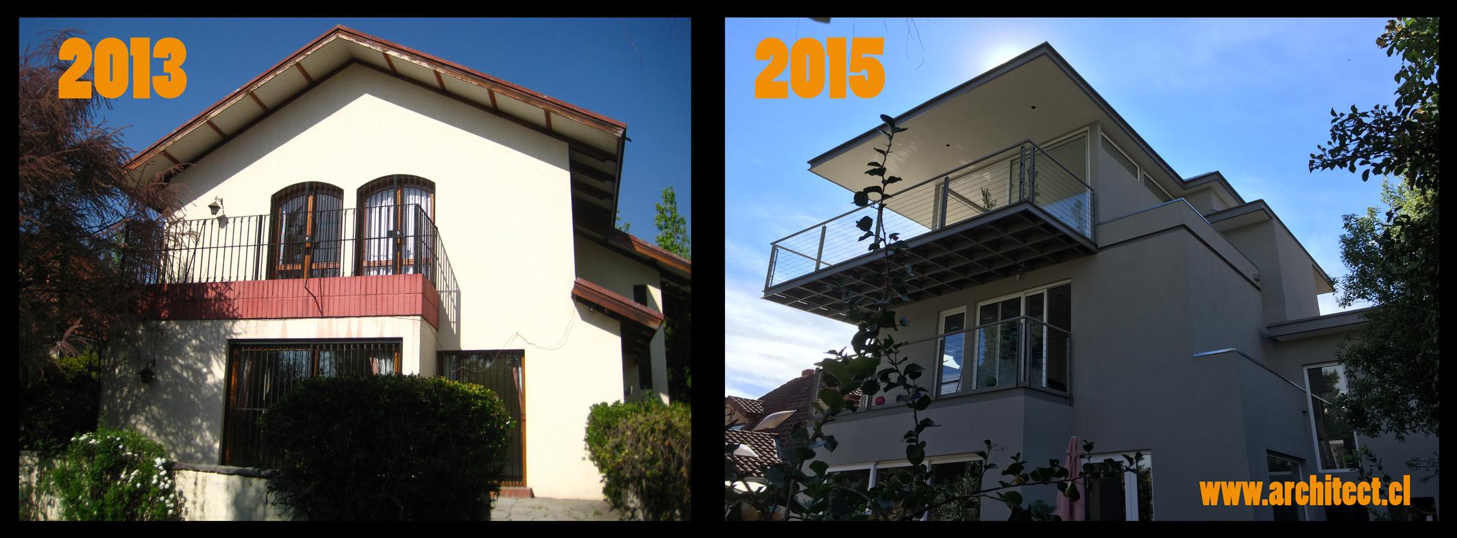 casa magnolio antes y despues